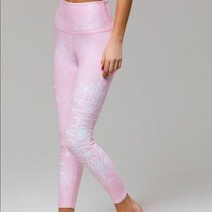 Onzie graphic high rise midi legging brand new